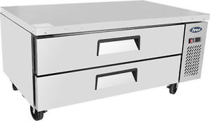 Atosa Mgf 8451 52 2 Drawer Refrigerated Chef Base Restaurant Free Liftgate