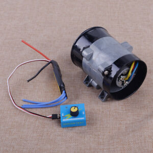 12v For Electric Turbine Power Turbo Charge Car Boost Air Intake Fan