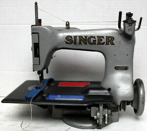 Vintage Singer 24 33 Chainstitch 1 thread Industrial Sewing Machine Head Only