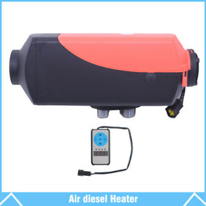 12v 5kw Diesel Fuel Air Heater For Car Truck Motor Heating W Remote Controller