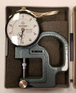 Mitutoyo 7312 Dial Thickness Gage 5a c0076
