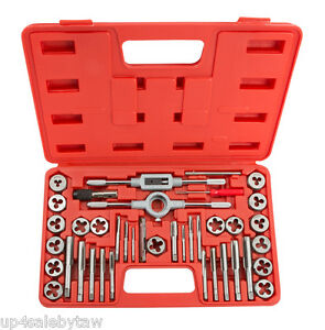 Tekton 7558 Tap And Die Set Inch 39 piece