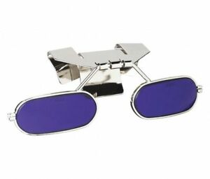 Uvex 32 08lfb8 0000 Half Lens Klip Lifts For Hard Hat Visor Cobalt Blue Shade 8