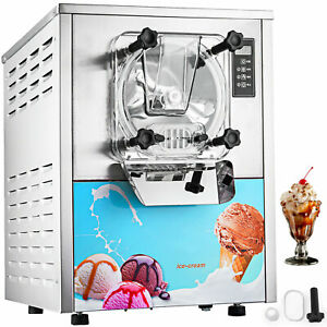 Commercial Frozen Hard Ice Cream Machine Maker 20 L h Yogurt Ice Cream Maker