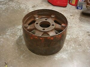 Vintage Case 5590a Tractor Belt Drive Pulley