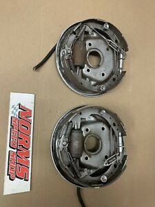 Mopar Front Brake Drum Backing Plates 10 1965 72 A Body Dart Barracuda Duster