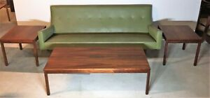 Jens Risom Design Series 63 Tables 1 Low Coffee Table With 2 Side Tables