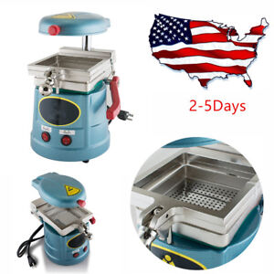 Blue Dental Vacuum Former Forming Molding Machine Heat Thermoforming System Ups