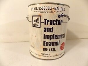 New Tisco Vintage Ford Red Tractor And Implement Tp M1j956se3lf 1 Gallon Can
