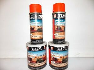 Tisco Industrial Enamel Ac Orange Tp 280 Allis Chalmers 2 Spray