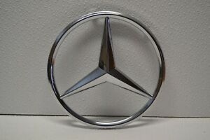 Mercedes Benz Chrome Star Front Grille Emblem Badge Genuine Oem A0008171416