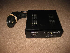 Panasonic Cctv Camera Power Supply Model Wv cd52 Cd51