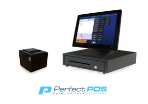 Restaurant Point Of Sale System Pos Software Bundle W Line Display