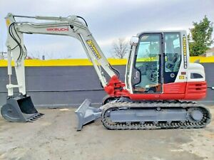 2016 Takeuchi Tb290 Mini Excavator Digger 18 630 Lbs 2244 Hours Work Ready
