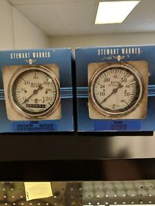 Stewart Warner Speedometer And Tachometer Package 82669 82659