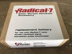 Masimo Radical 7 Color Screen Replacement Battery 2386