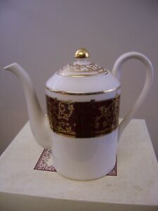 New Royal Gallery Victorian Vine Tea Coffee Pot Made In Indonesia Macy S 1994
