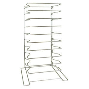 Restaurant Equipment Counter Top 10 Level Pizza Box Rack