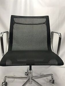 Herman Miller Eames Aluminum Group 50th Anniversary Mesh Chair