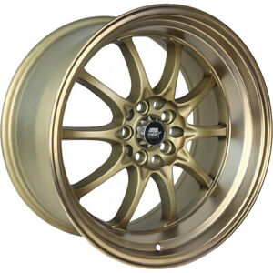 15x8 Bronze Mst Mt11 Wheels 4x100 4x4 5 0 Fits Ford Mustang 4 Lug Only