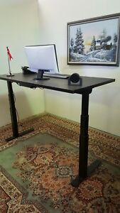 Timotion Lift Desk Laminated Computer Table 30 X 60