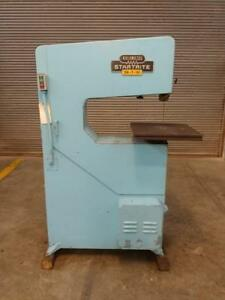 Kalamazoo Startrite 24 t 10 Vertical Band Saw 10 X 24 Throat Capacity