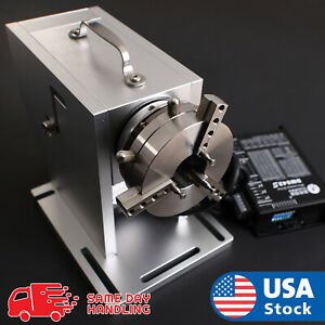 Aok Laser Rotary Attachment Rotation Axis For Fiber Laser Marker