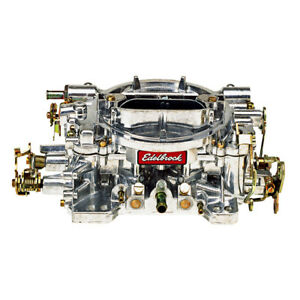 Edelbrock 1404 Carburetor 500 Cfm Performer Manual Choke