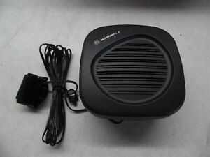 New Motorola Hsn 4029a Mobile Radio Speaker