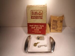 1951 Ford Passenger Car Fuel Door Lock And Guard Nos 1a 18168
