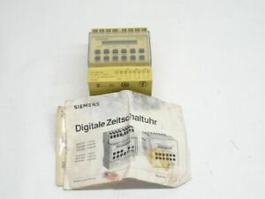 Siemens 7lf2331 0a Digital Programmable Timer Switch