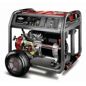 Briggs Stratton Running Watt Portable Gas Generator With Ohv 420cc for Parts