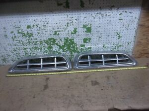 1955 Chrysler Windsor New Yorker Grille Left Right Trim Molding 55 Oem F