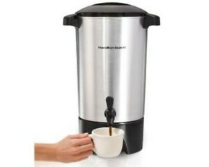 Restaurant Equipment New Hamilton Beach Commercial 42 Cup Coffee Urn Stainless