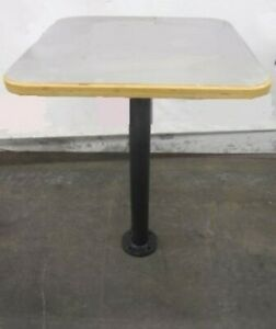 Restaurant Equipment 30 X 30 Table Stainless Top Bar Height Patio Base