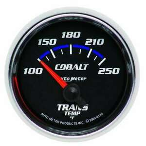 Auto Meter 2 1 16in C S Trans Temp Gauge 100 250