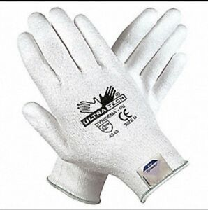 Ultra tech Coated Cut Resistant Gloves 9677s Size Small 12 Pairs