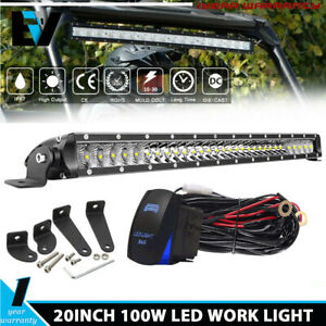 Slim 30inch 150w Single Row Led Off Road Light Bar For Ford Truck 15000 Lumens