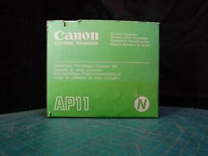 Lot 5 New Sealed Canon Ap01 Ap100 Black Electronic Typewriter Ribbon Cartidges