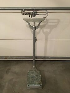 Vintage Antique Fairbanks Weight Scale Art Deco Local Pick Up Only