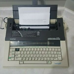 Brother 310 Compactronic Electronic Typewriter 60 000 Word Spell Spelling