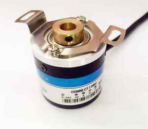 12 24v 6mm Push Pull Out Put Rotary Encoder For Automation Equipment Printing