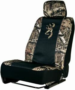 Spg Universal Realtree Mossy Oak Browning Seat Cover For Cars Trucks And Suv S