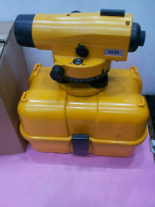 Auto Level Leveling Tool Used By Contractors Builders Land Surveying
