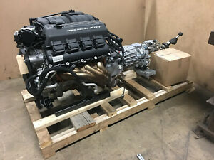 2017 6 4 Hemi 392 Engine With Manual Transmission Complete 485hp 1 000 Miles