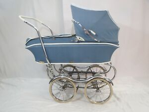 Vintage Rex Baby Buggy Stroller Carriage Rolling Cadallic Stroll O Chair