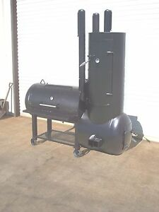 New Custom Bbq Pit Smoker Charcoal Grill