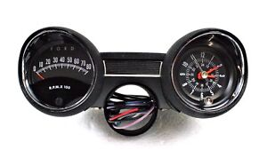 1964 65 Ford Mustang Rally Pac Kit V8 W 8000 Rpm Ford Tachometer 64f 13508 Mf