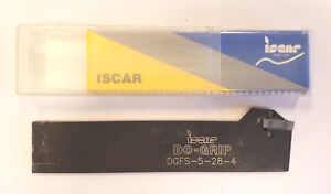 Iscar Dgfs 5 28 4 Grip full Radius Indexable Grooving Blade 11a e0304
