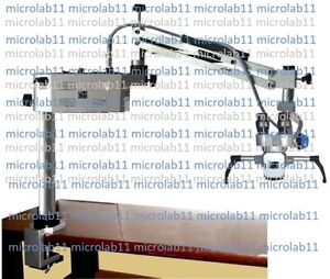 Portable Ent Microscope 3 step Ent Surgical Microscope table Mounted